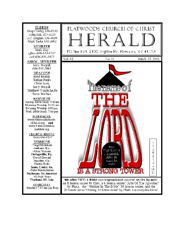 the Herald bulletin March 13th edition-thumbnail