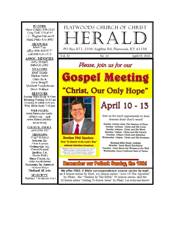 the Herald bulletin April 3rd edition-thumbnail