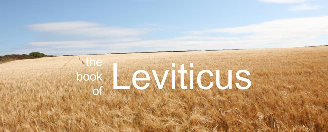 Leviticus – Topical Bible Class by Buck Wheeler